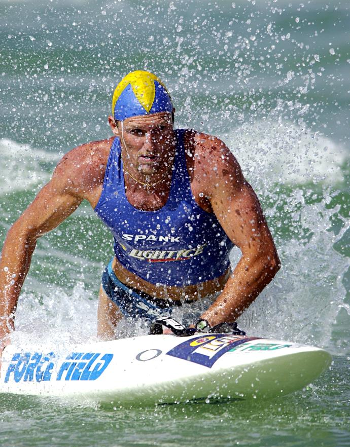 Trevor won his 25th gold medal in 2001.