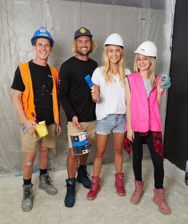 The couple team up with Luke and Tess and give them their secret tips on how to improve their home