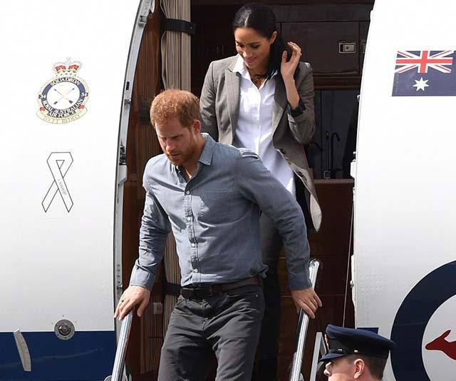 Harry and Meghan's travel plans became front page news in the UK, after they were slammed for taking several private jets.
