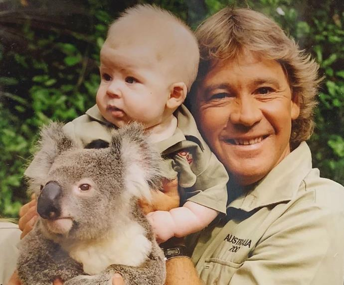 """""""Even in my early years, my dad certainly shaped the person I am today.. he was the best dad to me and @bindisueirwin, and I'll always look up to him ❤️,"""" Robert Irwin captioned a throwback picture of himself and the late Steve Irwin. And of course, Bindi posted her own video tribute too."""
