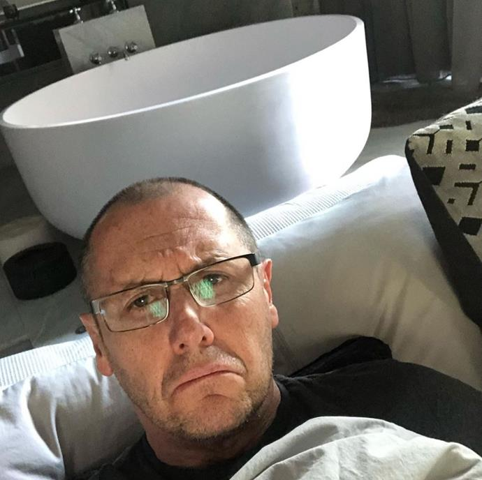 Poor Larry Emdur was bedridden for Father's Day with man flu. Oh well, there's always next year!