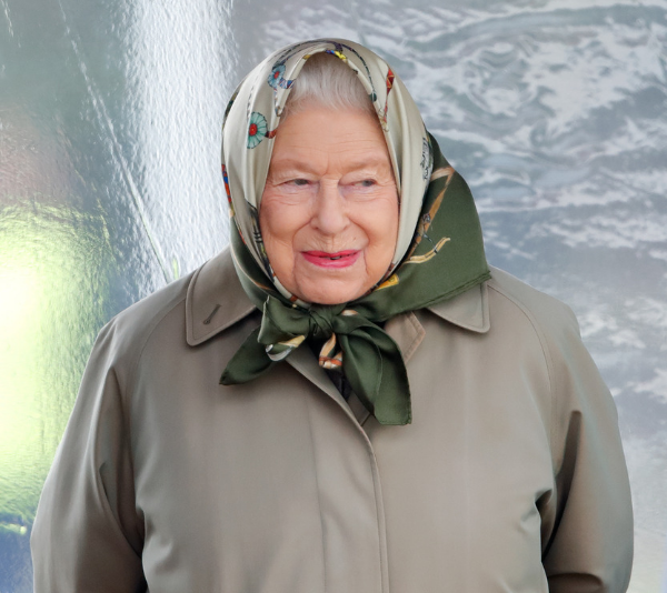 Can you imagine bumping into the Queen?