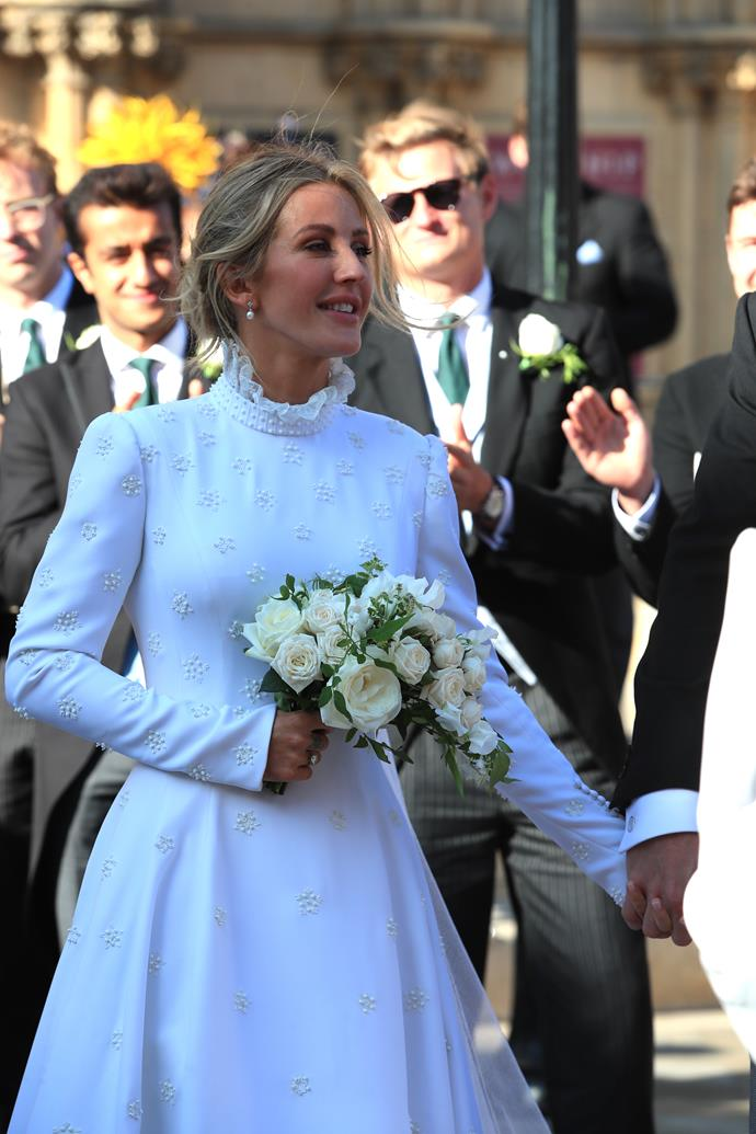 Ellie Goulding's wedding has been revered by the masses for its A-list guests and fashion-fare.
