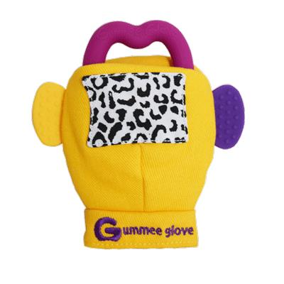 "[Bloom & Grow Gummee Glove](https://www.thenile.com.au/baby/glove-teething-mitten-yellow/5060313610001|target=""_blank""