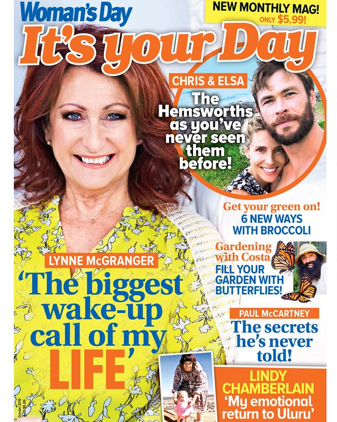 For more, pick up a copy of It's Your Day - on sale now!