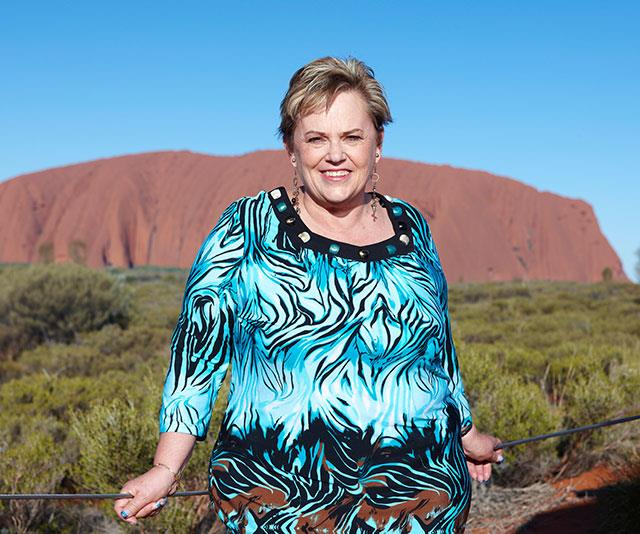 Brave and resilient, Lindy made a return pilgrimage to Uluru nine years ago.