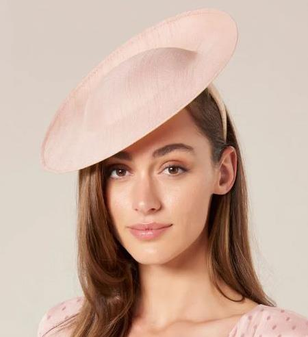 "[Small disk ""hatinator"" in blush, $60, from Forever New](https://www.forevernew.com.au/denver-small-disk-hatinator-261081?colour=navy