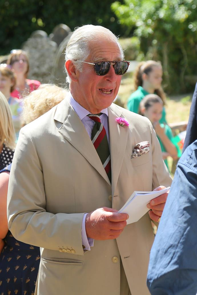Prince Charles is officially helping to launch a fashion collection and this is not a drill.
