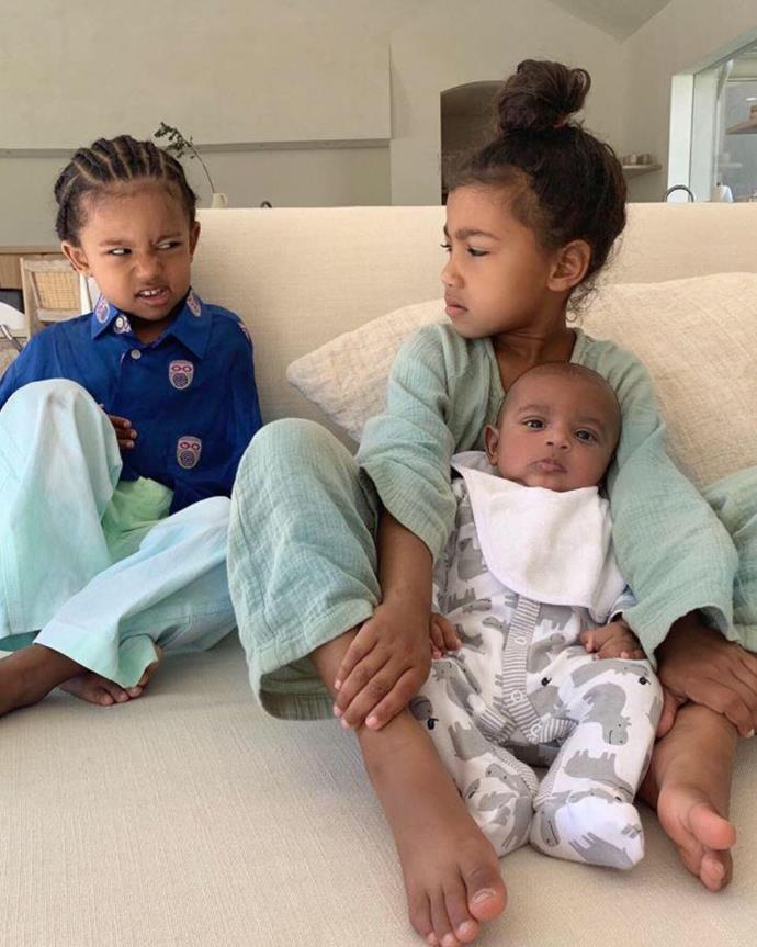 The Wests already have some sass about them!