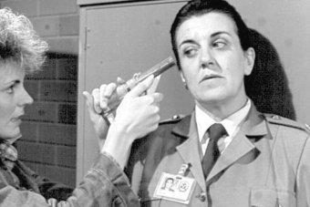 """Maggie played Joan """"The Freak"""" Ferguson on *Prisoner*."""