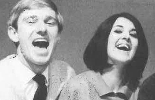 John Hargreaves and Maggie in America Hurrah! 1968