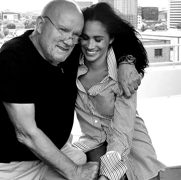 The Duchess shared a beautiful photo of herself and Peter in tribute.