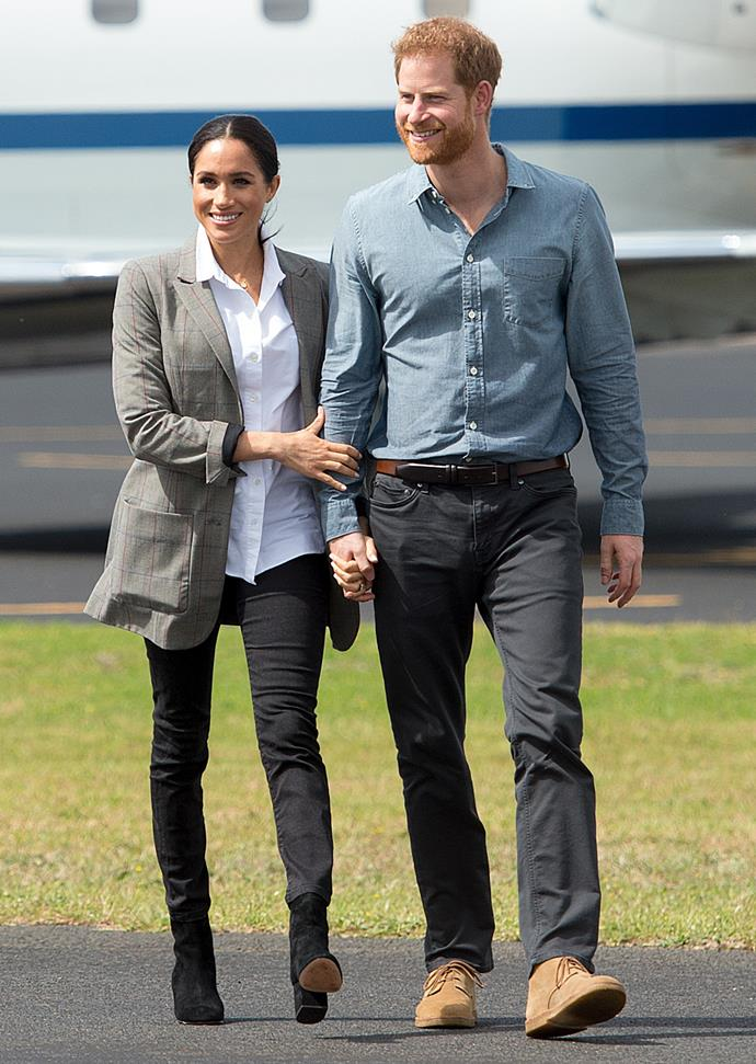 Meghan and Harry nailed the smart casual dress code during their recent royal tour of Australia.