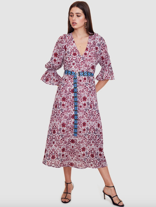 "Vestire Dolls On Parade Midi Dress. AUD $139.98. [Available via The Iconic here](https://www.theiconic.com.au/dolls-on-parade-midi-dress-823182.html|target=""_blank""