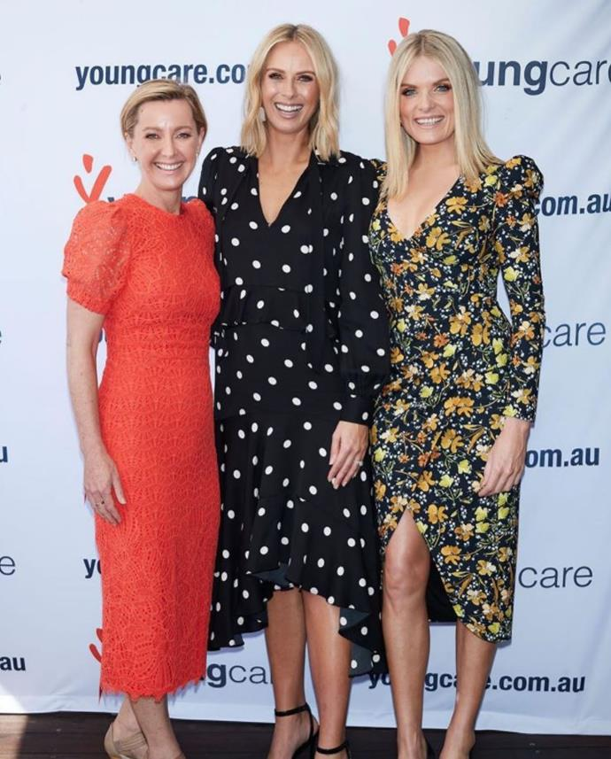 Deb Knight, Sylvia Jeffreys and Erin Molan: Three of our favourite blondes!