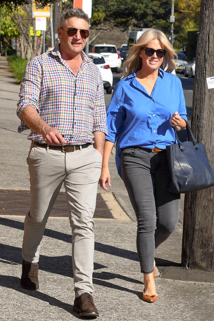 When they're not in Sydney, the couple spend time together at the breakfast TV host's country retreat.