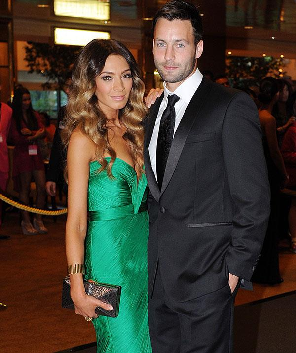 The Bartels - and that dress - at the 2011 Brownlow Medal red carpet.