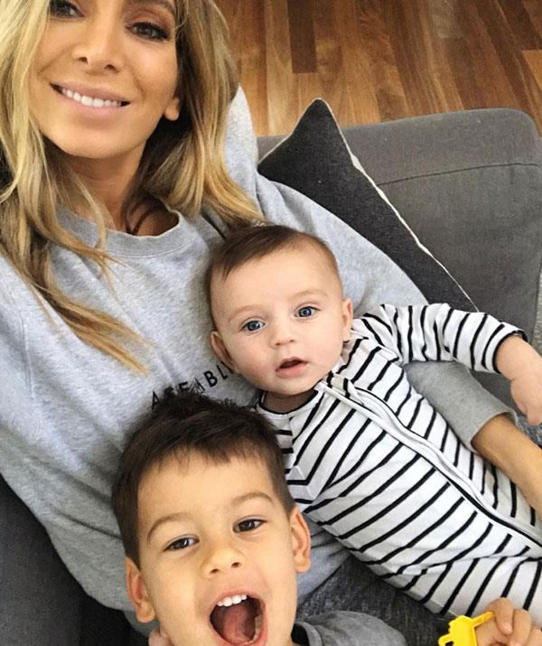 The couple are sharing custody of their two sons.