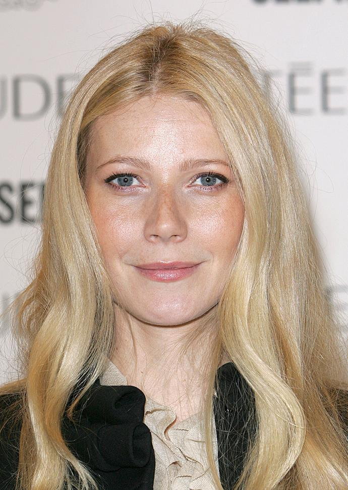 Gwyneth looking particularly fresh-faced in 2005.