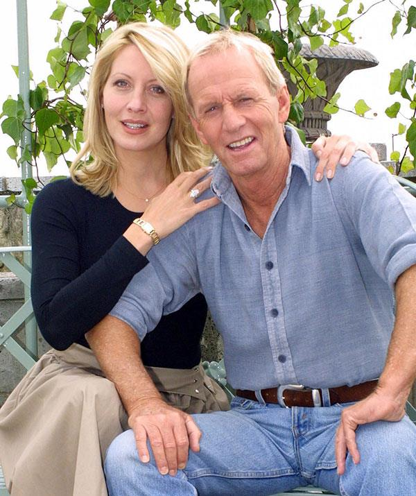 His ex-wife Linda (pictured) has been urging Paul to stop smoking.