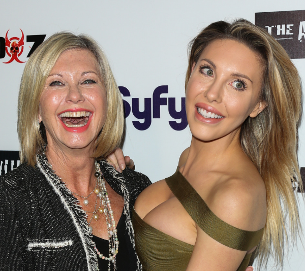 Daughter Chloe has been at her mum's side throughout her turbulent illness over the years.
