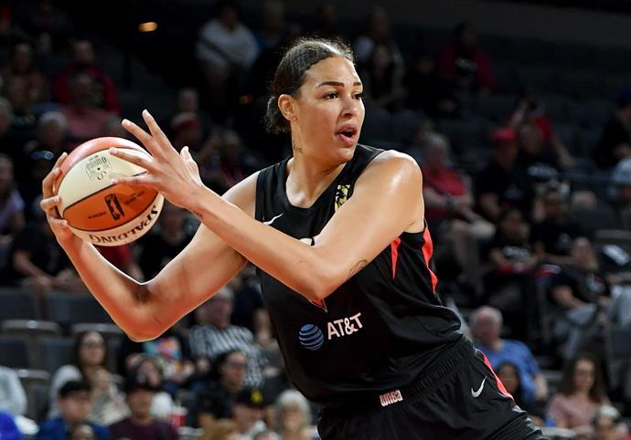 Liz Cambage is one of Australia's best WNBA stars.