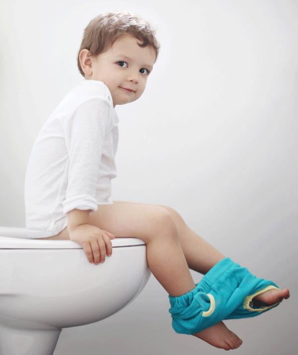 Most toddlers become potty-trained during their third year but boys often start later than girls.