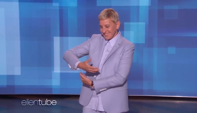 Ellen described her encounter with baby Archie in detail.