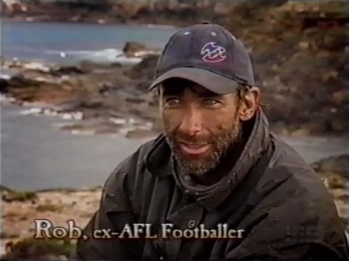 Rob was a former AFL star who tragically died in 2009.