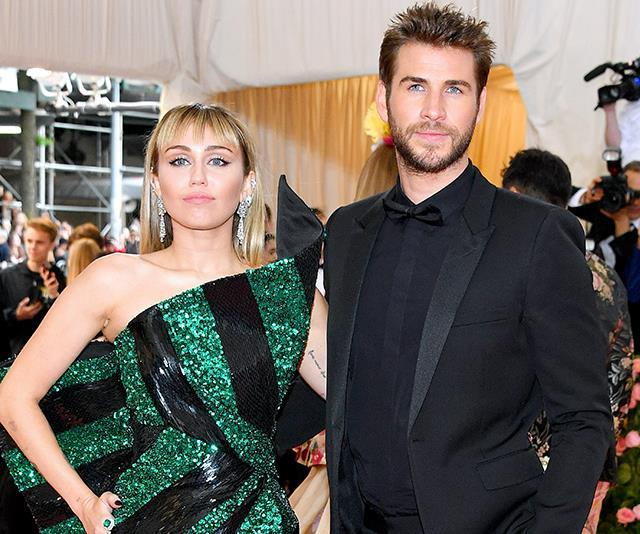 Miley and Liam officially called it quits last month.