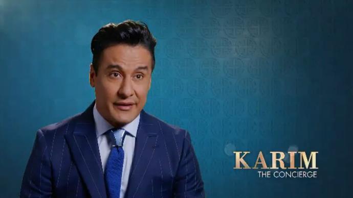 Karim Gharbi, the celebrity concierge from Sydney's Crazy Rich Asians.