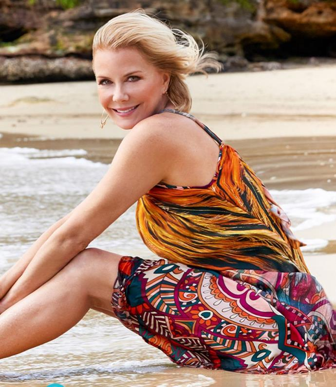 Katherine Kelly Lang has a stunning kaftan collection called 'Katherine Kelly Lang Kaftan'.