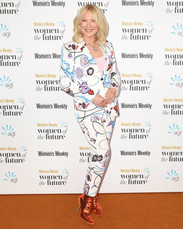 Kerri-Anne Kennerley's boots are a knock-out on the red carpet at the Australian Women's Weekly Women of the Future awards. **WATCH NEXT: Kerri-Anne talks about the amazing women she works with (and Joe Hildebrand).**