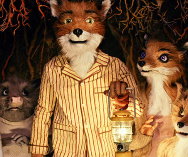 **Fantastic Mr Fox - 2009:** Director, Wes Anderson took on his first animated film and his first film adaptation when he brought this Roald Dahl story to life. The film is about a fox who steals food each night from three mean and wealthy farmers. They think they can catch him, but *Fantastic Mr Fox* and his pals manage to outwit them all!