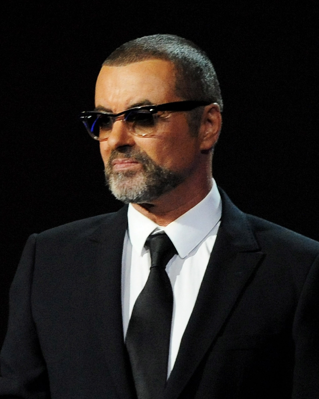 The late, great George Michael.
