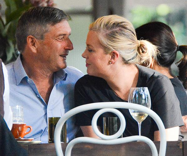 The loved-up pair were recently spotted shopping for jewellery in Sydney.