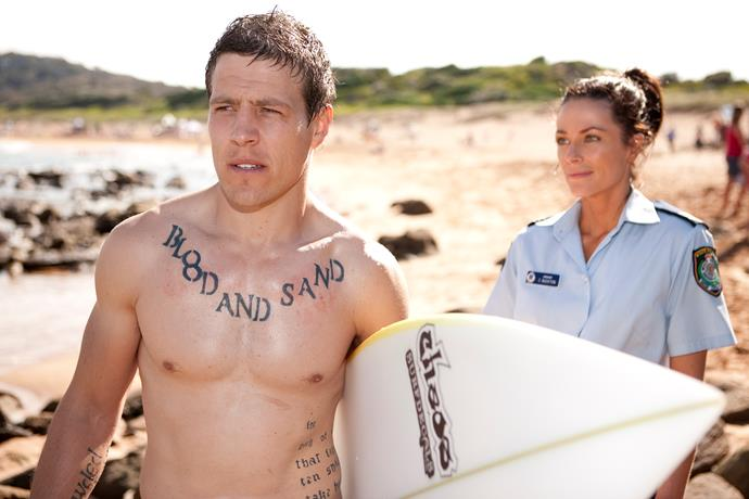 **Brax  & Charlie,  2011** <br><br> This was the ultimate good girl/bad boy relationship. As a cop, Charlie's (Esther Anderson) job was to keep Brax (Steve Peacocke) and his gang under control. But Charlie couldn't keep her own feelings for him under control!  <br><br> Their kisses were super-steamy, and their relationship was one of the hottest ever on the show. It took Charlie's death to end it. Brax was shattered, as were the fans.