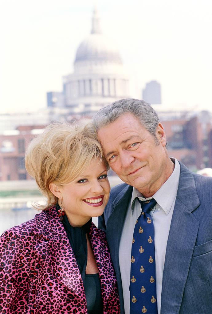 **Marilyn  &  Donald, 1996** <br><br> Considering all the other shocking relationships in the Bay, this one is relatively tame. But, it did cause a stir when beautician Marilyn (Emily Symons) began dating school principal Donald (Norman Coburn), who was almost twice her age. The pair become close when Marilyn was  <br><br> a mature-age student at the school. Their friendship later turned to romance, and they got married. Sadly, it all ended soon after their son died.