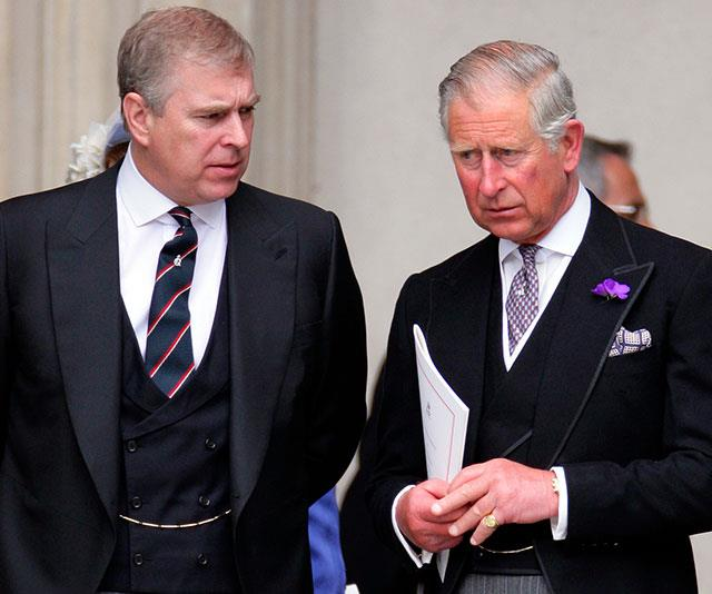 Prince Andrew (left) and Princes Charles (right) are said to be butting heads.