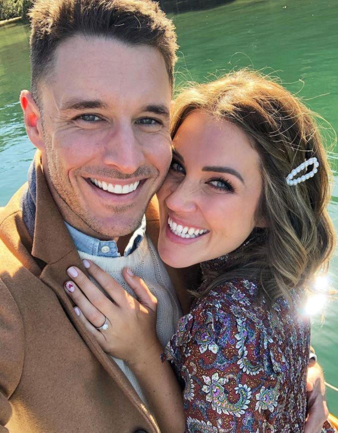 "Former *Bachelorette* Georgia Love and her beau Lee Elliott officially [announced their engagement](https://www.nowtolove.com.au/celebrity/celeb-news/georgia-love-lee-elliot-engaged-57961|target=""_blank"") on September 1. Sharing the exciting news to Instagram, Georgia shared a pic of the pair in an embrace along with the caption: ""If you're not busy for the next 50 or 60 years..."" 💍 #YES!!"" In true form, Lee's post about the couple's exciting news included a pun, which the pair are renowned for sharing on social media. ""I liked it so I put a ring on it 💍 #feyonce"". So much love for these two!"