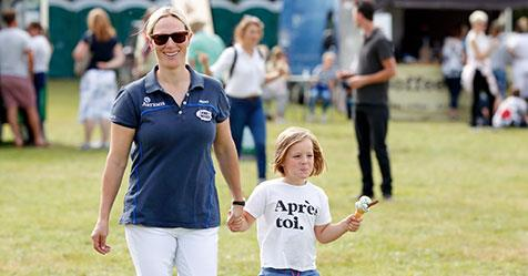 Zara Tindall had the cutest ice cream date with daughter Mia at the Gatcombe Horse Trials | Australian Women's Weekly