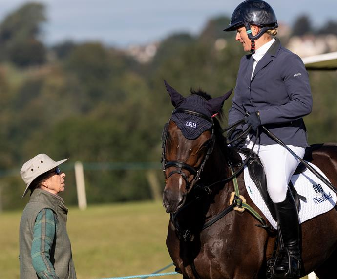 Like mother, like daughter: Princess Anne and Zara Tindall are both skilled equestrians and have represented Great Britain at the Olympic Games.