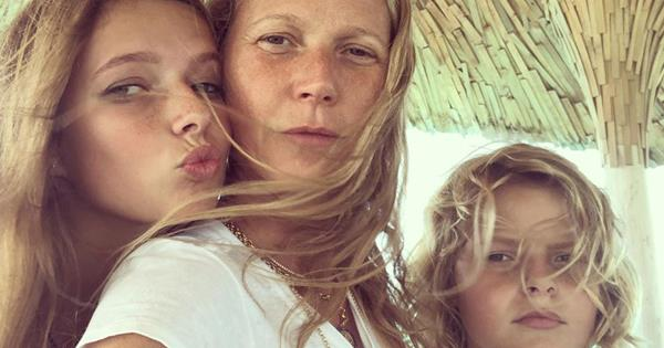 Gwyneth Paltrow's kids Apple and Moses look just like her | OK! Magazine