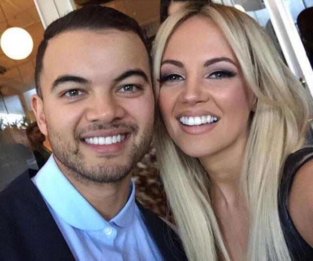 Samantha is longtime friends with former *Australian Idol* star Guy Sebastian (left).