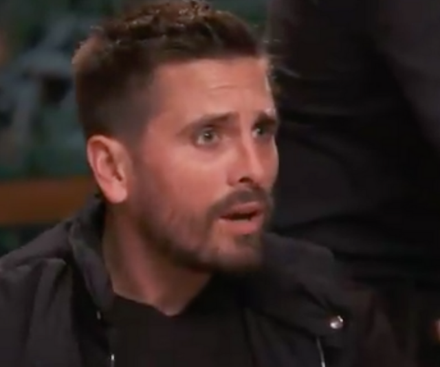 """My little daughter?"" Shocked by what he just heard, Scott Disick fires up in defence of seven-year-old, Penelope."