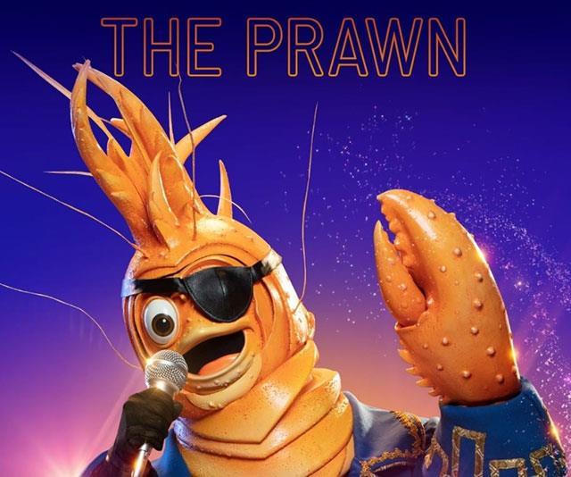 "**The Prawn** <br> * ""It doesn't take much for me to come out of my shell."" <br> * ""I enjoy being in the public eye. Here, the UK and America."" <br> * ""I'm a bit of a lairy Lad!"" <br> * ""But the big stage is where I feel most comfortable."" <br> * ""My choice of hobbies is unusual."" (Soccer ball and NFL ball) <br> * ""What do I want to be when I grow up? It's too hard to choose."" <br> * ""My skin wasn't made for the hot Australian sun. I would go as red as *this* prawn."" <br> * ""My strategy for my last performance was to really make a splash and it worked."" <br> * ""And I loved the fact that most of the panel think I've dated them! Have I?"" <br> * ""This lary Lord has made a big first impression, so it's no surprise to find me at the big occasions."" <br> * ""Although, I've famously spent a lot of time around the house. I guess, that's why sometimes I feel like an outsider."" <br> * ""Entering a competition like this, is a change in direction for my career. You might not know it, but we prawns enjoy a change of scenery."" <br> * 'I like lots of types of music which has come very handy in the past, but is there music in my future? It's not over until the raw prawn is cooked."" <br> * ""I'm in this competition for the long haul. I know it's going to take more than time to win. Call me big headed but that's what I'm going to do."" <br> * Song: *Break Free* <br> * ""I am a fanatic for sports and I have the platform to sing their praises. <br> * ""Given me the freedom to let go on stage"" <br> * ""Not the most experienced singer in the competition."" <br> * ""I'm not from around here. So your local customs are quite foreign to me. <br> * ""I have a reputation as a joker."" <br> * ""All you can judge me on is my voice and tonight my music is going to be big."" <br> * Picture of John Farnham <br> * Song: *Let Me Entertain You* <br> * Ski trophy, ski mask - ""As a child, I was on track as professional skier but now my sport interests lie elsewhere."" <br> * **UNMASKED**:  Darren McMullen"