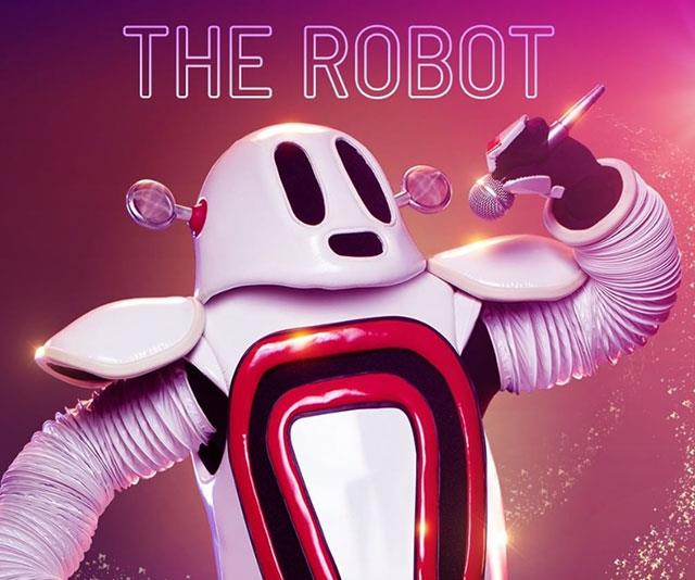"""**The Robot** <br> * """"I was created by the digital age."""" <br> * """"I really care about the real world."""" (picking up rubbish from water and the UN) <br> * """"I've always been connected to the water."""" (Surfboard) <br> * """"Growing up, I was surrounded by gold."""" <br> * """"As a young robot, my favourite animal was the butterfly."""" <br> * """"Now, I prefer something that goes 'tweet'."""" <br>  * """"I've been to many awards nights, from a very early age."""" <br>  * And they can dance! <br> * """"After my last performance, the only thing the panel is sure of is that this robot can move and sing."""" <br> * """"But are they on to me? Do they suspect who is under the robot mask?"""" <br> * """"Like many robots, I headed East like a moth to a flame, but I soon realised others were controlling my program. I felt like such a clone! So I short-circuited the production line and I'm now very much my own robot."""" <br> * Bubble gum popped by security guard. <br> * """"I always knew I had a lot of creative circutry inside me. You can say I'm multi-layered like a Russian doll or an onion. I love playing """"the game"""" in fact I think I'm quite good at it."""" <br> * """"Having a metal head makes me headstrong and can cause serious glitches."""" <br> * """"I am definitely not a robot who stays in one lane and with tonight's performance, I intend to mix it up with an Aussie classic."""" <br> * Song: *Horses* <br> * """"Some years ago, I was honoured by a grand historian."""" <br> * """"I performed a song I never would normally sing."""" <br> * """"It can be tough inside this robot mask, it's not easy to communicate with anyone."""" <br> * """"I'm extremely social and was privileged growing up."""" <br> * Find myself having more resolution. <br> * Guitar, spaghetti, Hawaii sticker <br> * Swimming trophies <br> * """"I won them around the same time I first made a splash."""" <br> * """"My last performance was robots best."""" <br> * """"I'm still dazzling them with my digital dance moves."""" <br> * """"Robots were created to make the world more wonderful for humans."""" (Holding a globe) <"""
