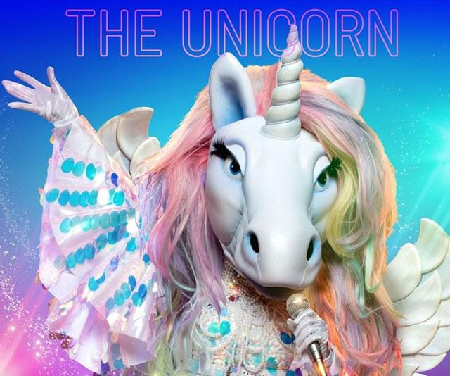 "**The Unicorn** <br> * ""I have been the princess, but never the queen."" <br> * ""We are creatures born of legends, with bloodlines through the ages."" <br> * ""My unicorn nature, I have chosen to roam my own way."" <br> * ""I have gone my own way, trotted my own path but always aware of the steps that came before me."" <br> * ""I'm incredibly social."" <br> * ""I have witnessed many miracles in my time."" <br> * ""To spread joy all over the world."" <br> * ""That [reality show] is not where my fame comes from. Unicorns do not believe in taking shortcuts."" <br> * ""There was a lot of love during my last performance."" <br> * ""As a unicorn, I have been the princess but never the Queen"" <br> * Rose petals <br> * ""It seemed like my voice was in the background.The Voice was always very important to me <br> * ""Some things are just meant to be"" <br> * ""Although the early days were rocky"" <br> * ""Unicorns are solitary creatures, but my highlights were in a group."" <br> * ""Live by the horn, die by the horn"" <br> * Song: *Proud Mary* <br> * ""For many years what I have done has been on my own, but it wasn't always like that."" <br> * ""I am not comfortable living in your reality."" <br> * Visits rarely, even though from the ""same planet"" <br> * Coffin <br> * ""I was young when I first decided to follow my magical path."" <br> * Song: *Crazy in Love* <br> * American Passport plus International Flags - ""It has taken this unicorn all over the world, to the places where I've had my greatest success."" <br> * ""When I first roamed the earth, I travelled on the elements."" <br> * ""I am not a diva, although I stood behind the world's greatest one."" <br> * ""You'll find my words on a b-track."" <br> * ""My last dance was years ago."" <br> * Rose petals <br> * Song: *Forget You* <br>  * ""I hope that my brother in Texas is proud of what I do here."" <br> * ""I'm a magical mare."" <br> * ""Have you met a unicorn? Have You Ever? When you do meet us it's something you'll never forget. We are the world. <br> * The worlds greatest diva loved me once. Will she again? Never say never? <br> Song: *Locked Out of Heaven* <br> * ""I am a singer not an entertainer, a singer. I live my whole life through music. I wake to music, I go to sleep to music and have travelled the world because of music."" <br> * **UNMASKED**: Deni Hines"
