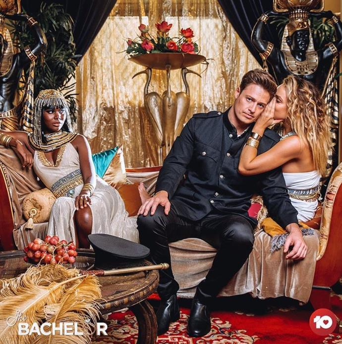"The [fairy tale themed photo shoot](https://www.nowtolove.com.au/reality-tv/the-bachelor-australia/bachelor-2019-tv-week-photo-shoot-57515|target=""_blank"") was where Matt and Abbie realised they were HOT for one another and then they made out in the orchard! (WATCH video in the next slide)"