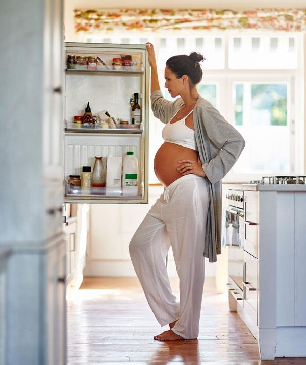 Pregnant and hungry? Stock your fridge with these seven pregnancy superfoods.